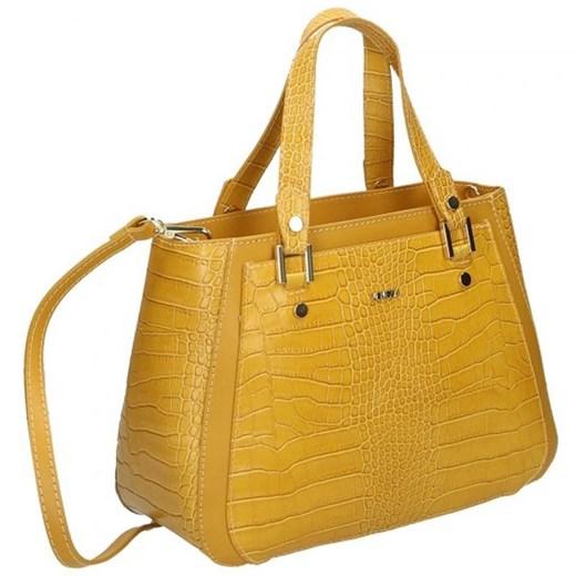 Shopper bag Venezia skórzana w Domodi