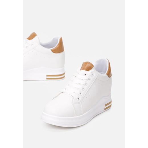 Biało-Camelowe Sneakersy Siniophe  Renee renee VKP6v