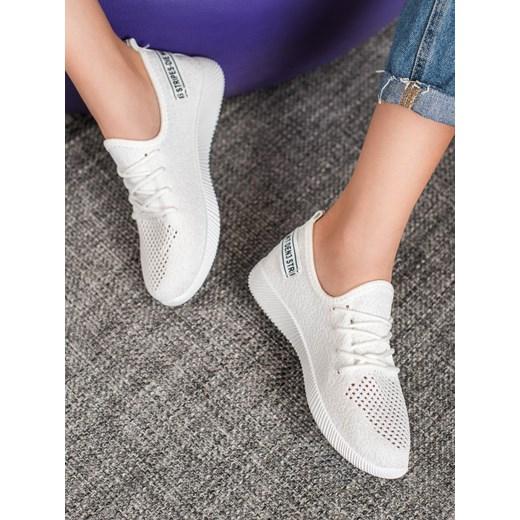 Buty sportowe damskie CzasNaButy młodzieżowe sznurowane na