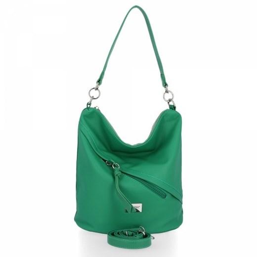 Shopper bag David Jones bez dodatków na ramię duża