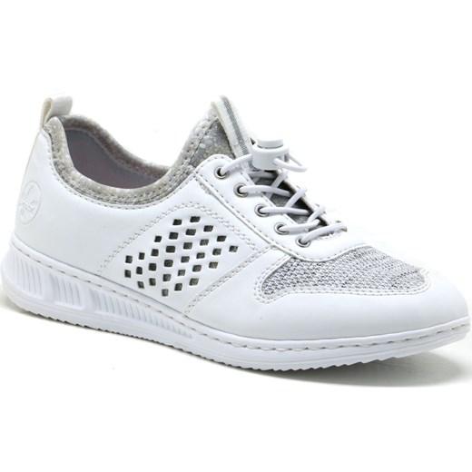 Buty sportowe damskie Rieker bez wzorów w Domodi