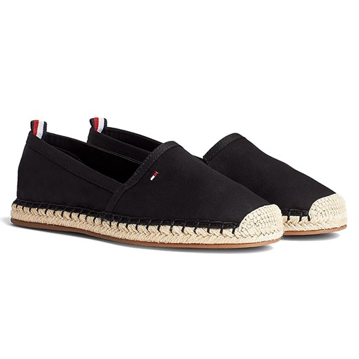 TOMMY HILFIGER BASIC FLAT COTTON ESPADRILES > FW0FW04827-BDS  Tommy Hilfiger  streetstyle24.pl