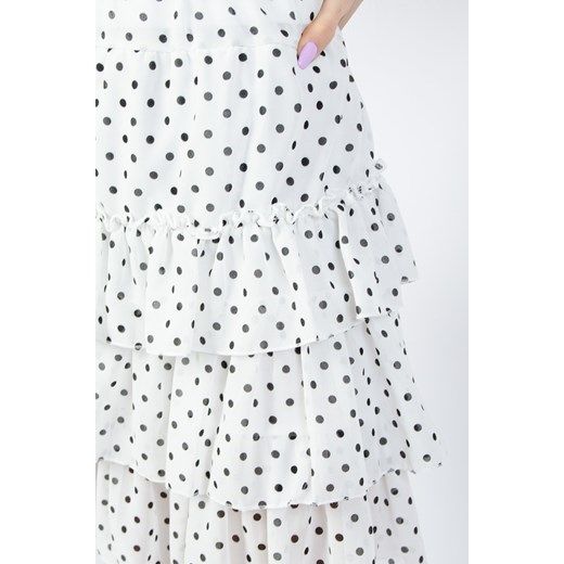 Spódnica biała Olika casual w Domodi