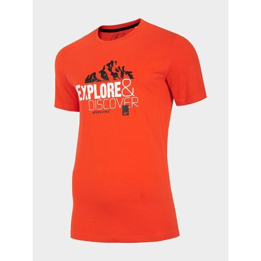 T-shirt męski 4F z krótkim rękawem DBCRl