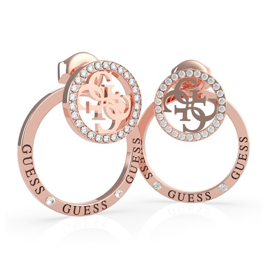 Guess rose gold kolczyki Equilibre Guess   Differenta.pl