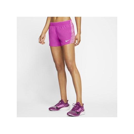 Szorty Nike Odzież Damska QQ fioletowy IWRG