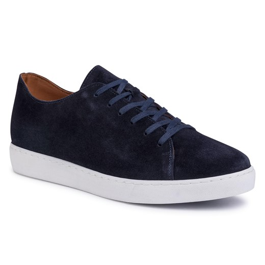 Sneakersy GINO ROSSI - MI07-A972-A801-04 Cobalt Blue   45 eobuwie.pl