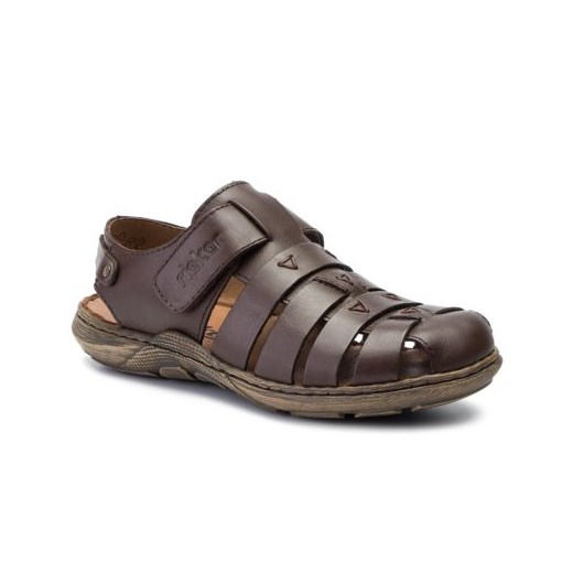 Sandały męskie Rieker skórzane w Domodi