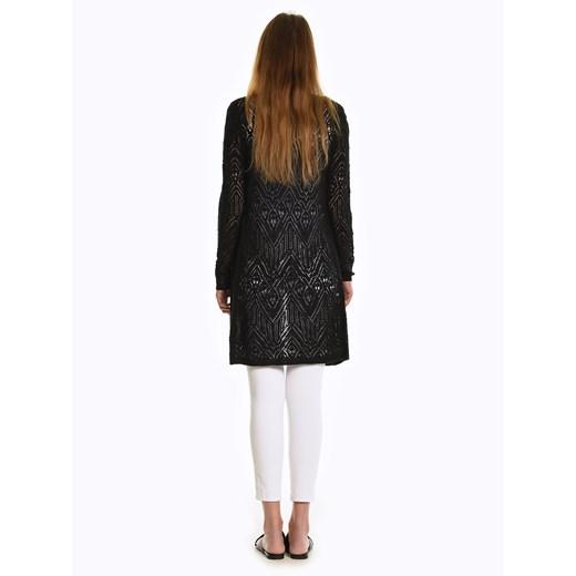 Sweter damski Gate z dekoltem v Odzież Damska MM czarny NWPI