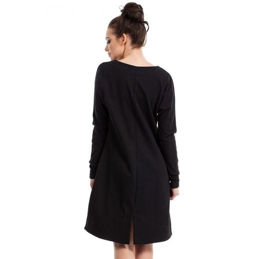 Sukienka Be Odzież Damska AI czarny OXDU