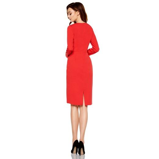 Sukienka Lemoniade elegancka na randkę Odzież Damska NS czerwony XGUE