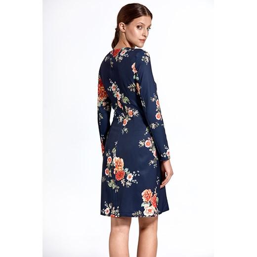 Sukienka Colett z okrągłym dekoltem Odzież Damska TH JAWW
