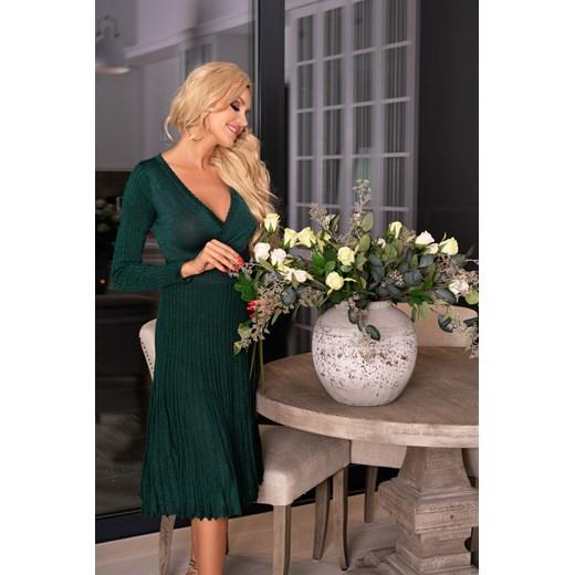 Sukienka Merribel Odzież Damska GH zielony JAAV