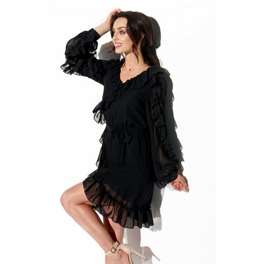 Sukienka Lemoniade Odzież Damska DY czarny GFIW