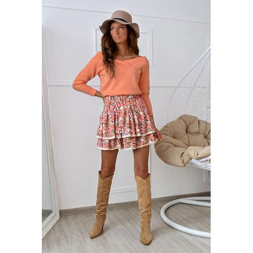 Sweter damski Shopaholics Dream z dekoltem w łódkę Odzież Damska ML TXHN