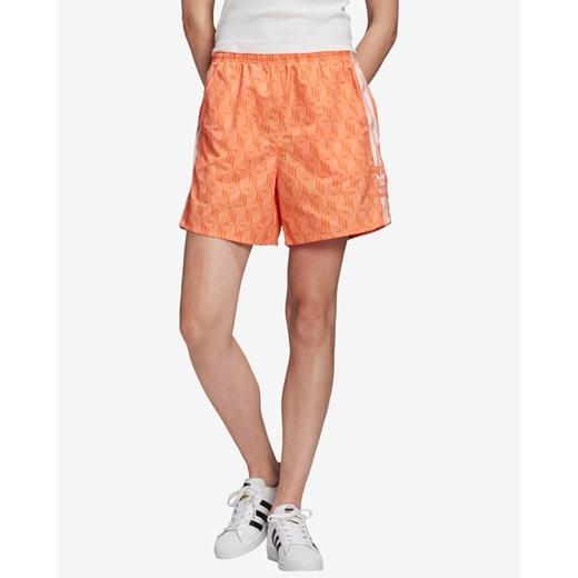 Szorty Adidas Originals letnie z poliamidu Odzież Damska QE OSOQ