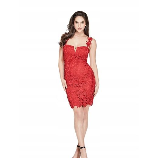 Sukienka Guess mini Odzież Damska HS czerwony ITQG