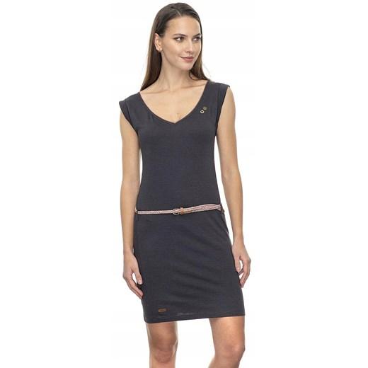 sukienka Ragwear Slavka 20 - 1010/Black Oficjalny sklep Allegro Odzież Damska XZ czarny PLYK