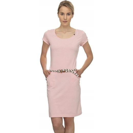 sukienka Ragwear Montana Organic - 4063/Light Oficjalny sklep Allegro Odzież Damska MC różowy QRKL