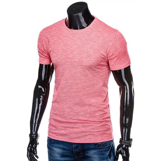 T-shirt męski Edoti.com casualowy cVMlS