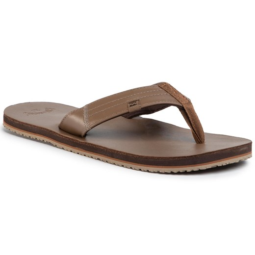 Japonki BILLABONG - Seaway Leather S5FF19BIP0 Chocolate 92   43 eobuwie.pl
