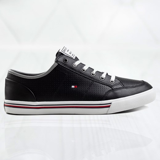 Tommy Hilfiger Core Corporate Leather Sneaker FM0FM02677DW5 Tommy Hilfiger  46 okazja Sneakers.pl