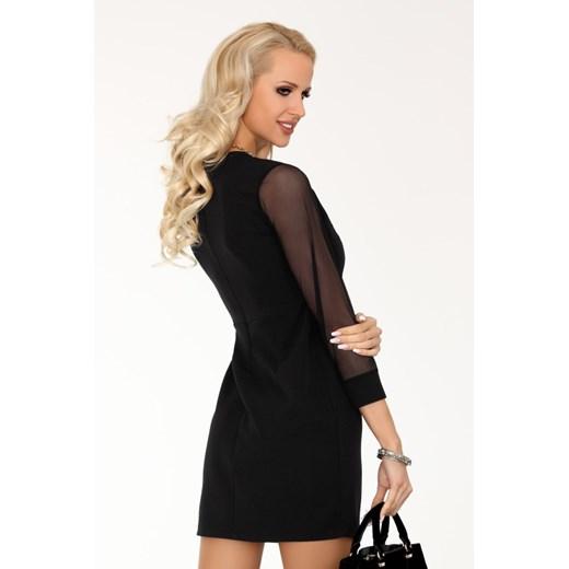 Sukienka Merribel z długimi rękawami mini Odzież Damska OP czarny EOTX
