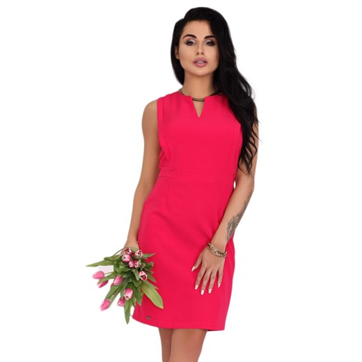Sukienka Merribel Odzież Damska VR różowy BESN