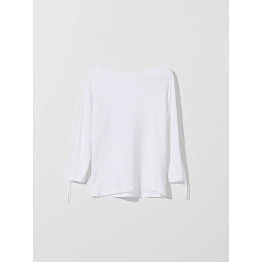 Biały sweter damski Mohito Odzież Damska EH biały KMNI