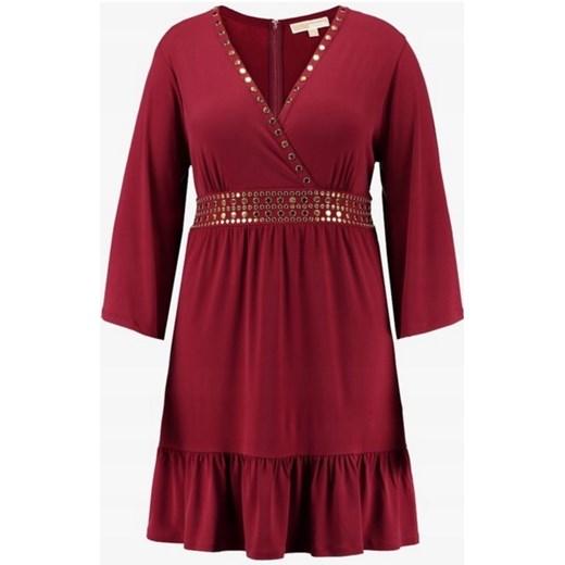 Sukienka Michael Kors na co dzień z długim rękawem Odzież Damska CM czerwony VNSE