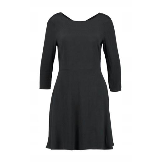 Sukienka Gap Odzież Damska QG czarny YUBL