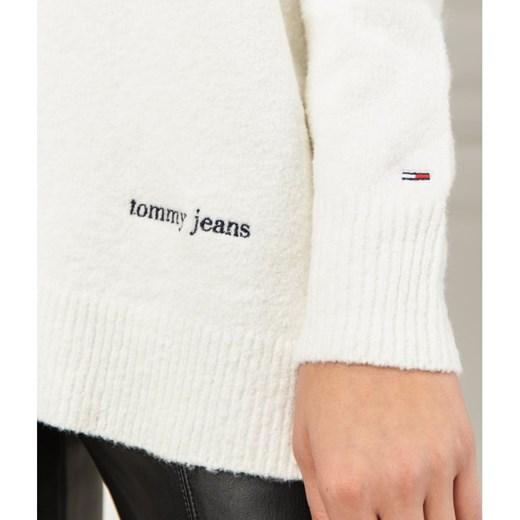 Sweter damski Tommy Jeans z okrągłym dekoltem Odzież Damska FP UCFI