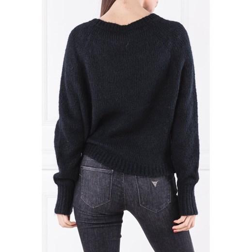 Sweter damski Max & Co. z okrągłym dekoltem Odzież Damska LF DNHE