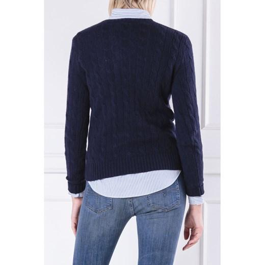 Sweter damski Polo Ralph Lauren kaszmirowy z okrągłym dekoltem Odzież Damska NX SHQF