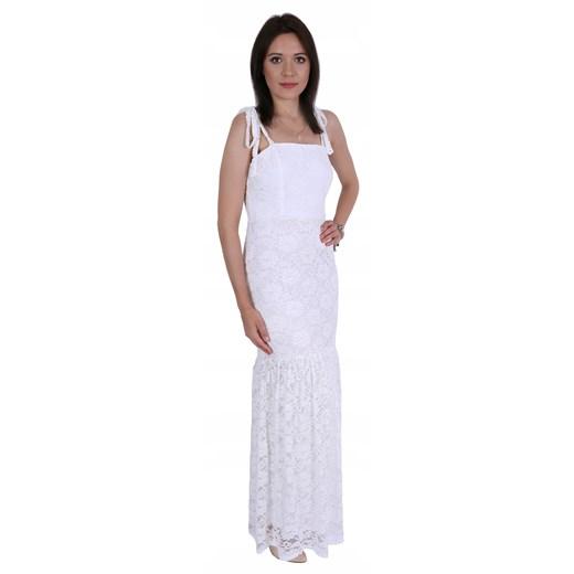 Sukienka Odzież Damska JE biały AVDD