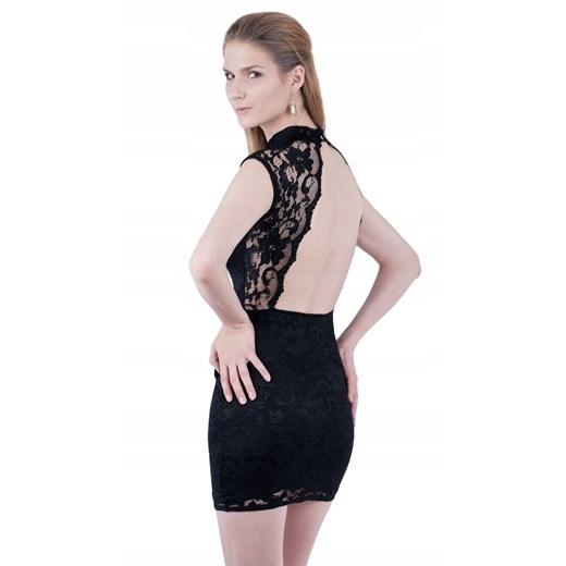 Sukienka mini Odzież Damska LS czarny UAYH