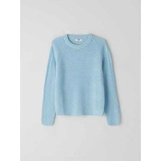 Sweter damski Cropp z okrągłym dekoltem Odzież Damska DW UYCG