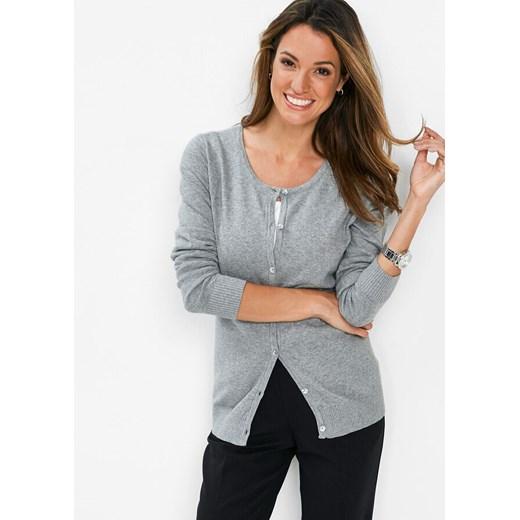 Sweter damski Bonprix z okrągłym dekoltem Odzież Damska MX MAKE