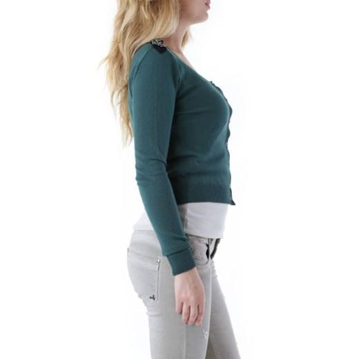 Olivia Hops Kardigan Kobieta - WH4-CG 4070 Zielony Italian Collection Worldwide Odzież Damska EC zielony MHIU