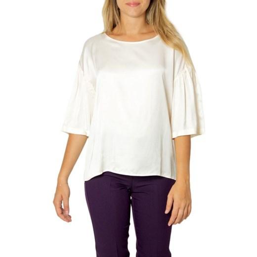 Sweter damski Emme Marella z okrągłym dekoltem Odzież Damska WB JPEQ