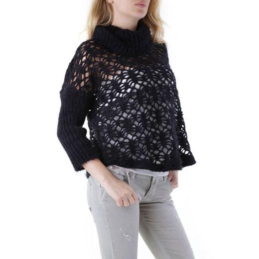 Sweter damski Cristina Gavioli Odzież Damska WF czarny ABOP