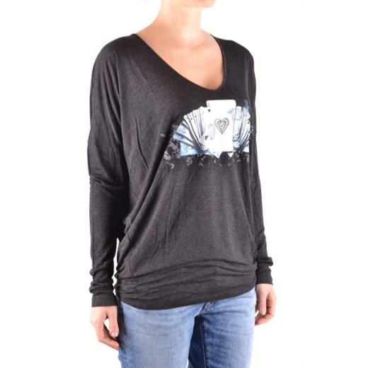 Sweter damski Liu Jo z okrągłym dekoltem Odzież Damska ZA ZQTP