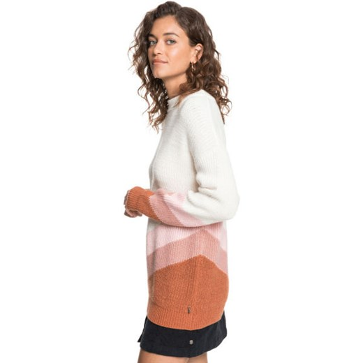 Sweter damski ROXY casual Odzież Damska HY wielokolorowy PPJF