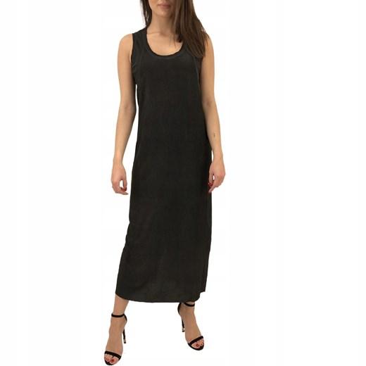 Sukienka czarna Diesel Odzież Damska RQ czarny XOKC