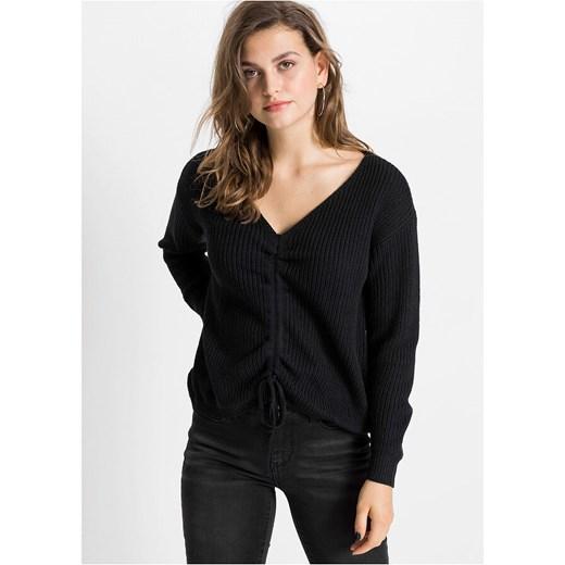 Sweter damski Bonprix gładki Odzież Damska ZN PJLQ