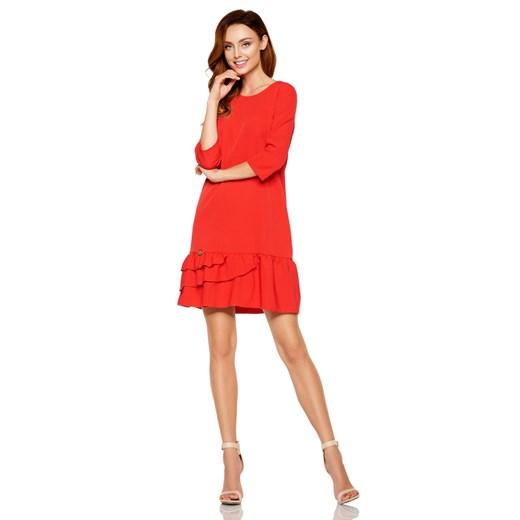 Sukienka Lemoniade Odzież Damska GL czerwony KWGU