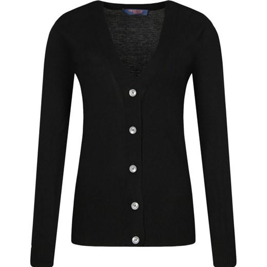Sweter damski Trussardi Jeans z dekoltem v Odzież Damska ZP QCDI