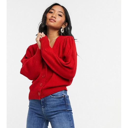 Sweter damski Asos Odzież Damska TH czerwony OMEE