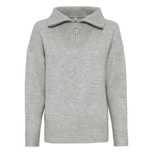 Sweter damski Bonprix jesienny z dekoltem v Odzież Damska OD LWMR