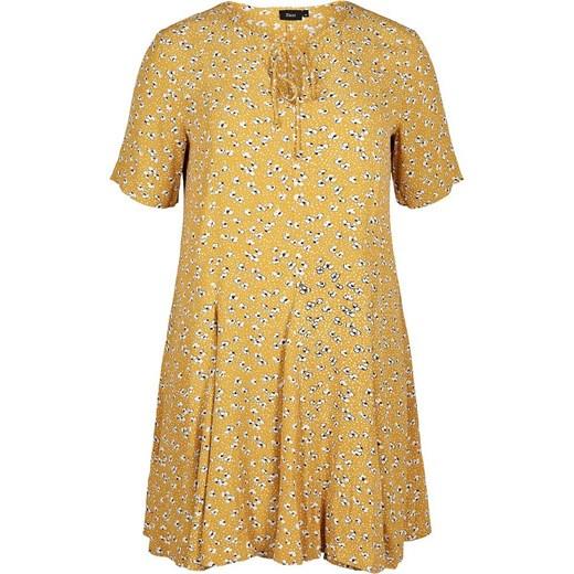 Sukienka Zizzi Odzież Damska WW żółty FBBS